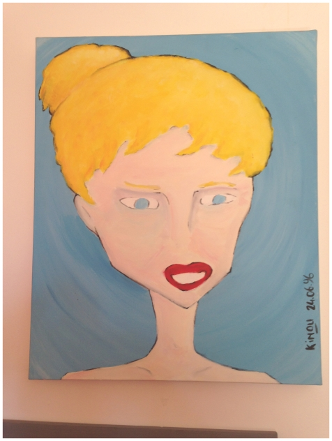Acrylique sur toile // acrylic on canvas 1995-1996