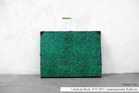 Réactivation // Reactivate - Installation « Cremadura » @ Salon Reçoit l'École de Revel 2011