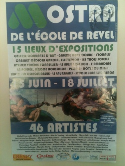 Affiche // Poster - Installation « Réduction #2 » Revel 2010