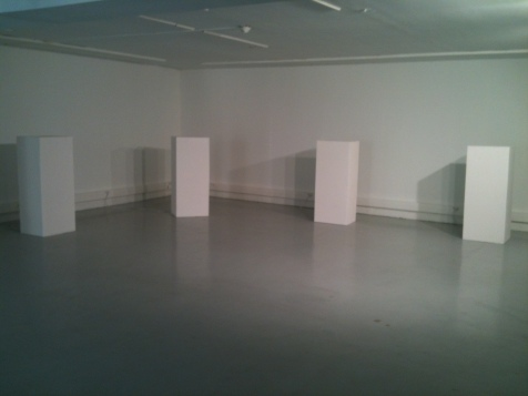 Installation dans l'exposition // Installation within the exhibition - OMNI @ Croix-Baragnon Toulouse 2013