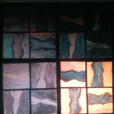 """Photo // Picture - Installation """"Dels pès e de las mans"""" Düsseldorf (Hilden) 1997"""