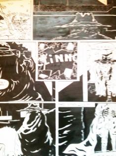 Dessin extrait d'une BD // Drawing from a comic strip - Syfilitiks Zine 1980
