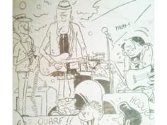 Dessin de presse // Cartoons - Infos Tarn Sud 1980