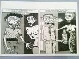 Dessin extrait d'une BD entièrement créée en numérique // Drawing from a comic strip totally designed with a computer - Zinfos 1988