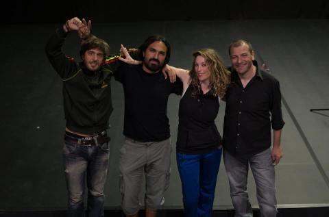 Avec l'équipe // With the team - Zart Compagnie @ L'Estruch Fàbrica de creació - Sabadell