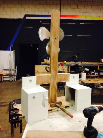Philippe Pitet - Installation La Croix du Sud