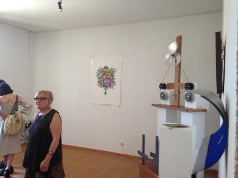 Exposition Dérapages et installations : Stéphane Castet - Nicolas Jaoul - Philippe Pitet
