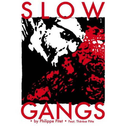 Philippe Pitet - Dessins contemporain - Série Slow Gangs
