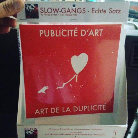 Philippe Pitet - Dessin contemporain - Slow Gangs