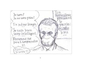 Dessin de confinement Philippe Pitet