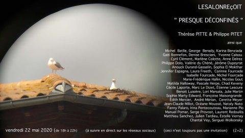 Le Salon Reçoit du 22 mai 2020 - coordonné par Thérèse Pitte et Philippe Pitet