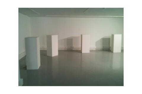 """Installation """"Réduction 02"""" de Philippe Pitet - 2013"""