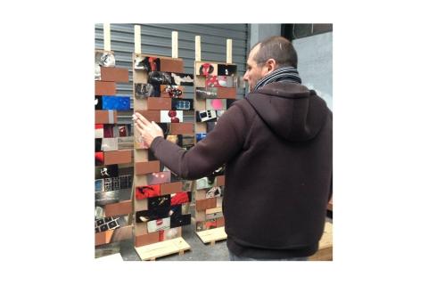 "Installation ""Fragile !"" de Philippe Pitet - 2015"