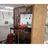 """Installation """"Radio Bleu-Bleu"""" pour l'exposition """"Bleu Bleu"""" à Lieu-Commun, Toulouse dans le cadre du """"Printemps de Septembre"""" - Septembre et octobre 2016"""
