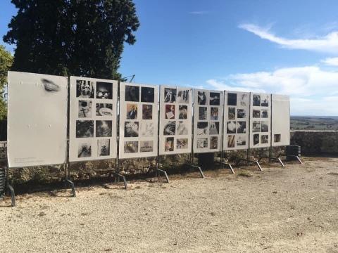 Ne va jamais à Navatar - Bienvenue en Chamanie, exposition à l'Été Photographique de Lectoure édition 2020 «Circuit court», avec Thérèse Pitte