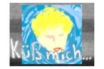 """Capture d'écran de la vidéo de Philippe Pitet """"Küß mich ..."""" - 1996"""
