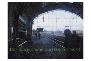Copie d'écran de la vidéo de Philippe Pitet - No Show #2 - 2007