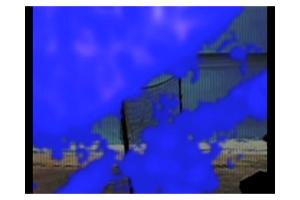 Copie d'écran de la vidéo de Philippe Pitet - No Show #5 - 2011