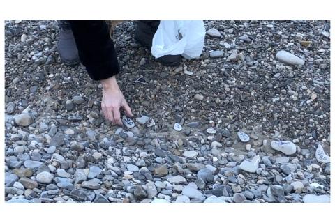 Copie d'écran extrait du travail vidéographique de Philippe Pitet en compagnie de Thérèse Pitte - Rituels 2020