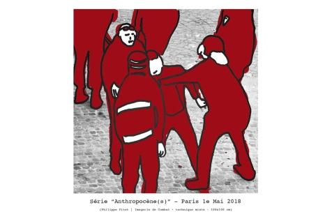 """Dessin extrait de la série : """"Anthropocène (s)"""" - 2018"""