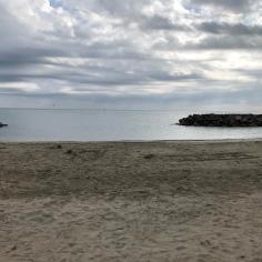 Une plage de Frontignan avant de reprendre la route vers Die !