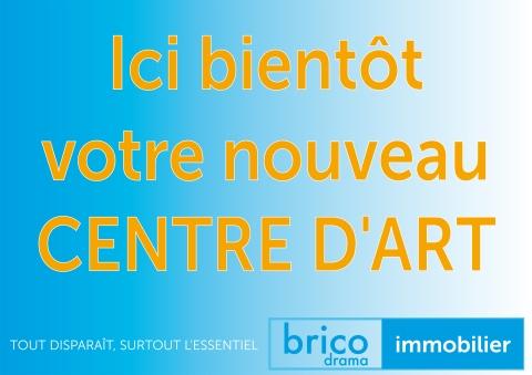 Fausse affiche créée par Philippe Pitet pour annoncer la seconde édition de la Biennale Bricodrama (Biennale Arts Visuels - Lieux d'artistes en Occitanie)