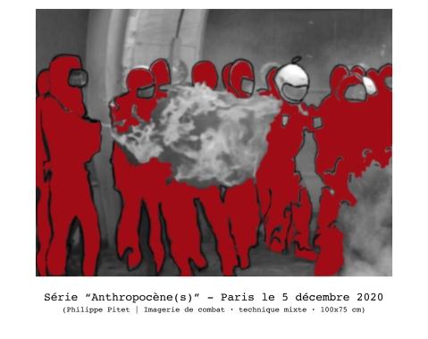 """Dessin extrait de la série : """"Anthropocène (s)"""" - 2020"""