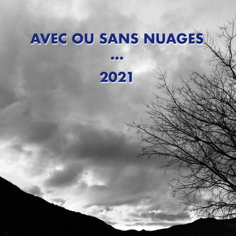 Carte de vœux de bonne année 2021 de Philippe Pitet artiste plasticien artiste visuel