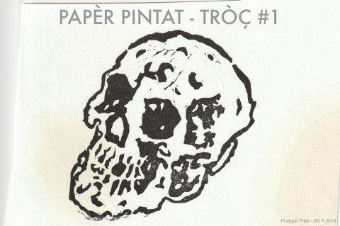 Modèle pour dessin de papier peint par Philippe Pitet