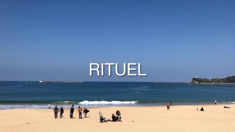 """Image extraite d'une vidéo du cycle """"Rituel"""" de Philippe Pitet et Thérèse Pitte - 2021"""