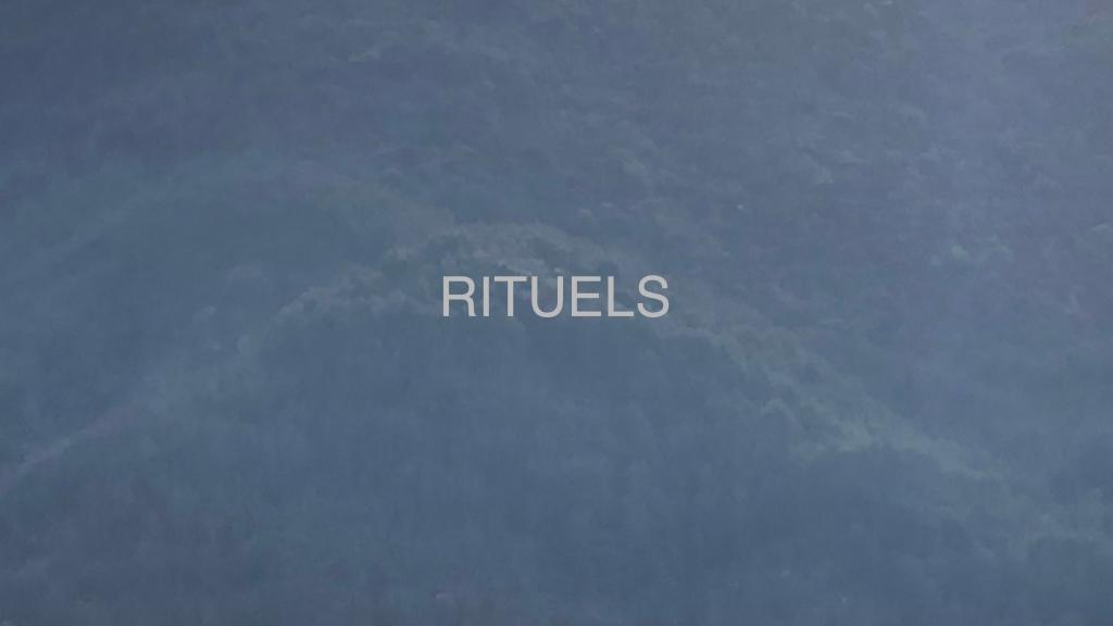 """Photo extraite des vidéos du projet """"Rituels"""" de Philippe Pitet et Thérèse Pitte - Septembre 2021"""